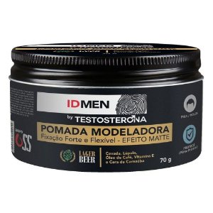 Pomada Modeladora 70g Id Men By Testosterona Soft Love