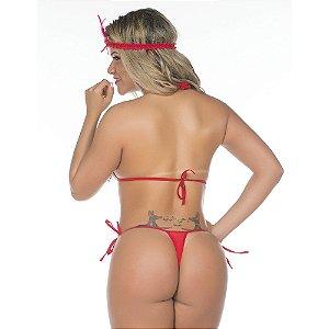 Kit Fantasia Pimentinha Melindrosa Pimenta Sexy