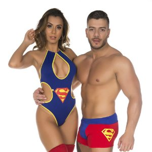 Cueca Super Homem Pimenta Sexy