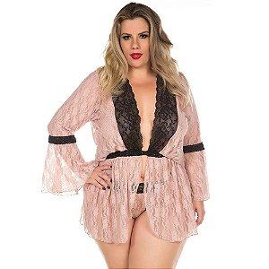 Robe Sensual Ana Júlia Plus Size Pimenta Sexy