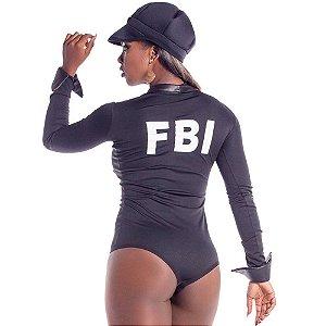 Kit Fantasia Policial Justine Sapeka