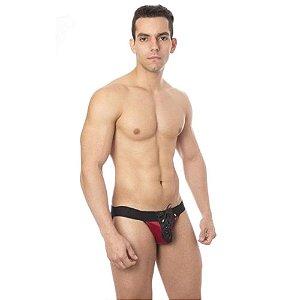 Jock Sado Ilhós Vermelho Com Preto Sd Clothing