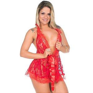 Camisola Sensual Luxo Pimenta Sexy