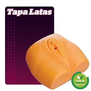 Tapa Lata em forma de vagina 1