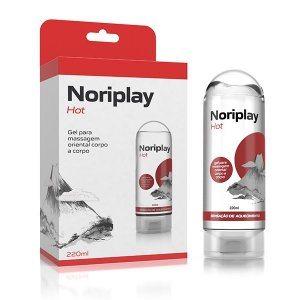 Noriplay Hot Gel para Massagem Oriental Corpo a Corpo
