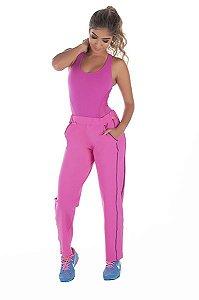 Calça Bailarina Fitness Rosa