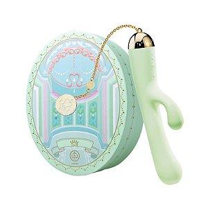 ZALO - Lolita Ichigo Rabbit Vibrator - Verde