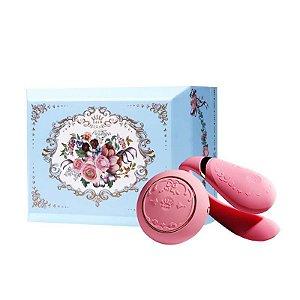 ZALO - Versailles Fanfan Set Couples Massager - Rosa