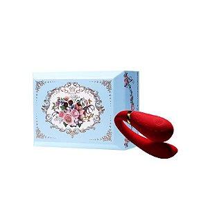 ZALO - Versailles Fanfan Couples Massager - Vermelho