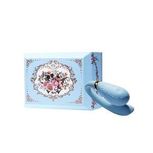 ZALO - Versailles Fanfan Couples Massager - Azul