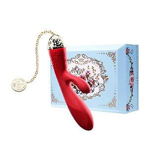 ZALO - Versailles Rosalie Rabbit Vibrator - Vermelho