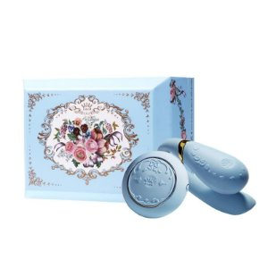 ZALO - Versailles Fanfan Set Couples Massager - Azul