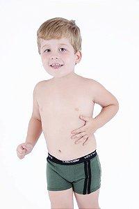 Cueca Boxer de Viscolycra Infantil