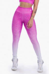 Calça Legging Sublimada (Purple Gradient)