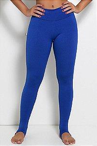 Legging Lisa com Pezinho (Azul Royal)