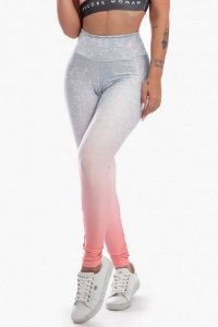 Calça Legging Sublimada Peach Fade