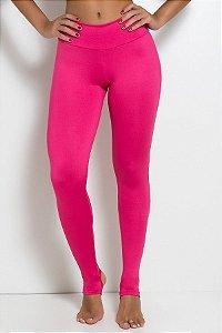 Legging Lisa com Pezinho (Rosa Pink)