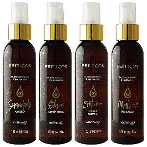 Suavidade Óleo Aromático Spray Massagem 120ml Feitiços