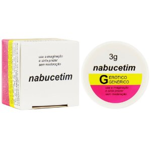 Pomada Nabucetim 3g Secret Love