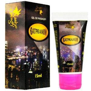 Batpramim Lubrificante Siliconado 15ml Secret Love