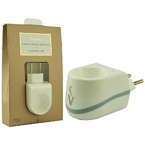Aromatizador Plástico Elétrico Led Via Aroma