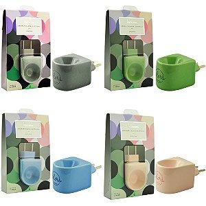 Aromatizador Porcelana Elétrico Colors Via Aroma