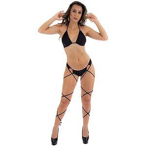 Kit Mini Fantasia Pole Dance Pimenta Sexy