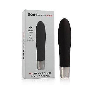 V4 - Vibrador Charm Multivelocidade - DOM