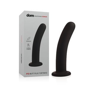 P13 - Butt Plug Tortinho - DOM