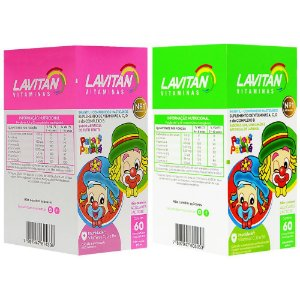 Lavitan Infantil Patati Patata Mastigáveis 60 Comprimidos Cimed