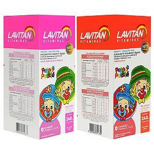 Lavitan Infantil Patati Patata Líquido 240ml Comprimidos Cimed