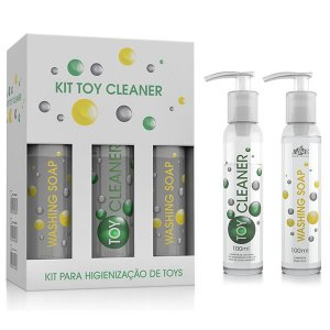 Kit Toy Cleaner e Washing Soap - 6 Unidades
