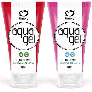 Aqua Gel Lubrificante Beijável 60g Sexy Fantasy
