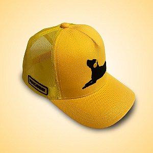 Boné PingoBoi Amarelo
