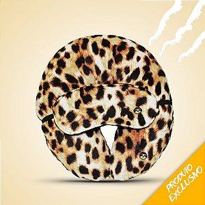Almofada de pescoço Animal print  + tapa olho