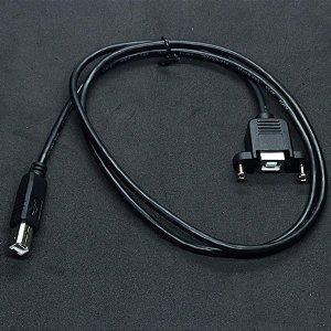 CABO EXTENSÃO USB TIPO B PARA PAINEL 1MT