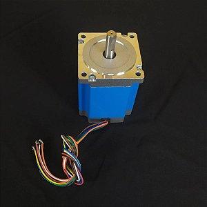 MOTOR DE PASSO NEMA34 90KGF 3A  CNC ROUTER PLASMA