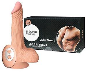Archibald - Pênis Rotativo Que Aquece - 21 X 3,7 Cm