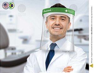 Protetor Facial Personalizado Com Seu Nome e Marca