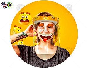 Protetor Facial Tema Smile