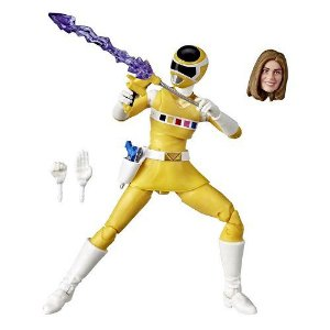 Power Rangers In Space Lightning Collection Yellow Ranger