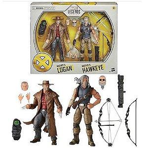 X-Men 20th Anniversary Marvel Legends Old Man Logan & Hawkeye