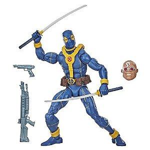 Marvel Legends Series Deadpool (Blue) (Strong Guy BAF)