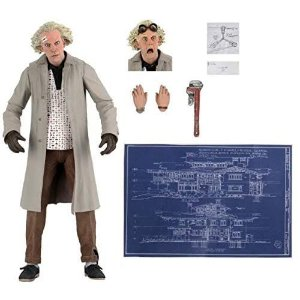 NECA Back to the Future Ultimate Doc Brown Figure