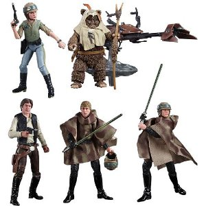 Star Wars The Black Series 6 Heroes of Endor SDCC 2020 Exclusive