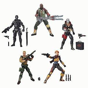 G.I. Joe Classified Series Wave 1 Set com 5 Figuras