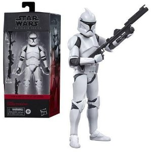 Star Wars The Black Series 6 Phase I Clone Trooper - Attack of the Clones