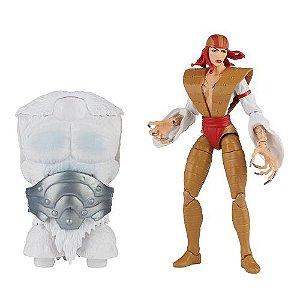 Marvel Legends Super Villains Lady Deathstrike (Xemnu BAF)
