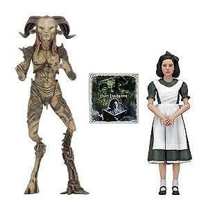 NECA Pan's Labyrinth Guillermo Del Toro Signature Collection Faun & Ofelia 2-Pack Walmart Exclusive
