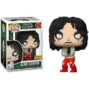 Funko Pop Rocks Alice Cooper Straightjacket Hot Topic Exclusive